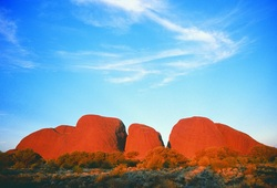 Tour thumb kata tjuta  central australia