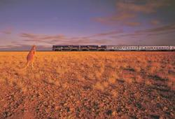 Indian Pacific - Train from Sydney to Perth and v.v