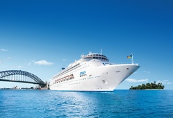 Australian Cruises - Pacific Jewel in Sydney, Image P&O Cruises