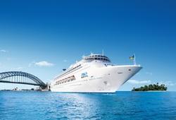 Australian Cruises - Pacific Jewel in Sydney, Image P&O Cruises
